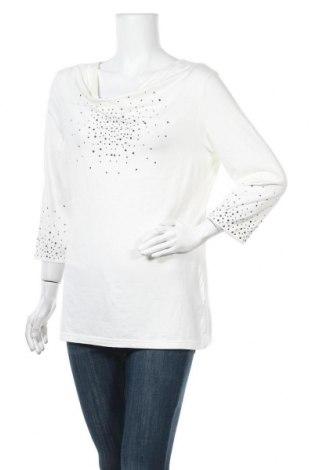 Дамска блуза, Размер L, Цвят Екрю, 95% вискоза, 5% еластан, Цена 10,85лв.