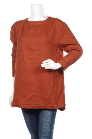 Дамска блуза, Размер XL, Цвят Кафяв, Цена 14,96лв.