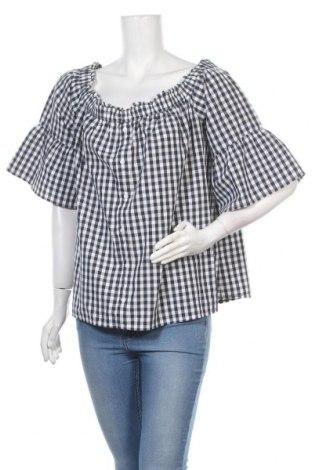 Дамска блуза Abercrombie & Fitch, Размер XL, Цвят Бял, Цена 25,50лв.