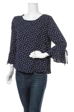Дамска блуза Active Basic USA, Размер L, Цвят Син, 97% полиестер, 3% еластан, Цена 16,96лв.