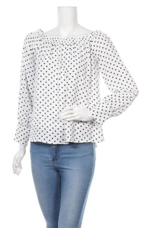 Дамска блуза Active Basic USA, Размер L, Цвят Бял, Полиестер, Цена 17,85лв.