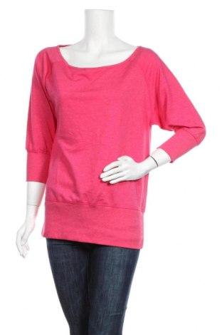 Дамска блуза Active By Tchibo, Размер S, Цвят Розов, 63% полиестер, 32% вискоза, 5% еластан, Цена 8,32лв.