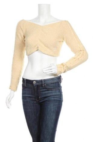 Дамска блуза Adidas Originals, Размер M, Цвят Бежов, Полиестер, Цена 32,00лв.