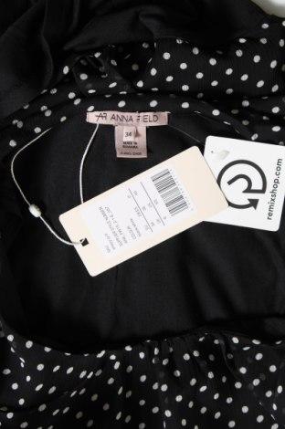 Дамска блуза Anna Field, Размер XS, Цвят Черен, 95% вискоза, 5% еластан, Цена 16,28лв.