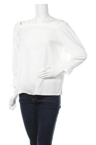 Дамска блуза Anna Field, Размер L, Цвят Бял, Памук, Цена 27,00лв.