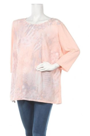 Дамска блуза Atelier GS, Размер XXL, Цвят Розов, 96% вискоза, 4% еластан, Цена 15,12лв.