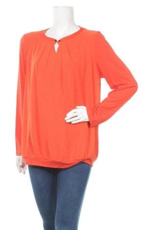 Дамска блуза Atelier GS, Размер XL, Цвят Оранжев, Полиестер, Цена 16,07лв.