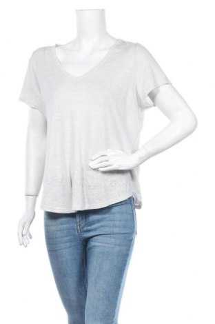 Γυναικεία μπλούζα Banana Republic, Μέγεθος M, Χρώμα Γκρί, Λινό, Τιμή 24,43€
