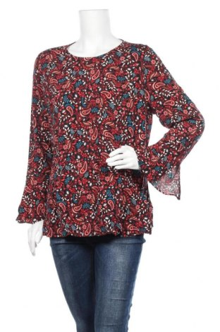 Дамска блуза Blue Illusion, Размер XL, Цвят Многоцветен, 100% вискоза, Цена 18,95лв.