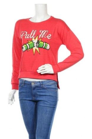 Дамска блуза Brave Soul, Размер S, Цвят Розов, 61% памук, 39% полиестер, Цена 36,75лв.
