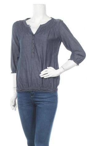 Дамска блуза Colours Of The World, Размер S, Цвят Син, Памук, Цена 10,71лв.