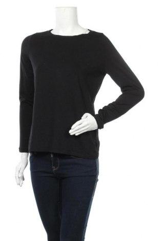 Дамска блуза Comma,, Размер M, Цвят Черен, 46% памук, 46% модал, 8% еластан, Цена 43,89лв.