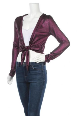 Дамска блуза Cool Cat, Размер M, Цвят Лилав, 95% полиестер, 5% еластан, Цена 11,60лв.