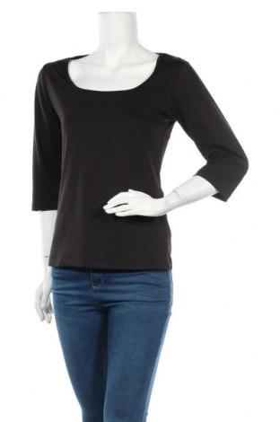 Дамска блуза Culture, Размер L, Цвят Черен, 86% полиестер, 14% еластан, Цена 17,85лв.