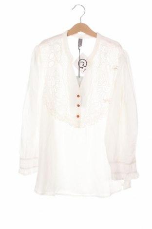 Дамска блуза Culture, Размер XS, Цвят Бял, 75% вискоза, 25% полиестер, Цена 62,30лв.