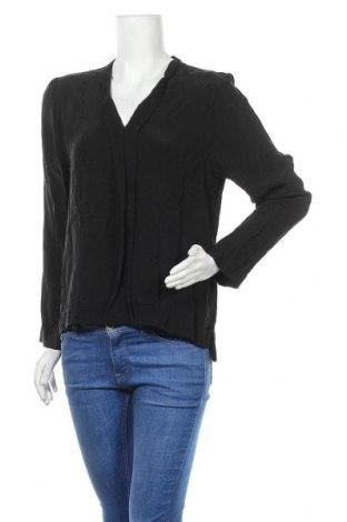 Дамска блуза Drykorn for beautiful people, Размер M, Цвят Черен, Купро, Цена 35,70лв.
