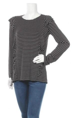 Дамска блуза Esprit, Размер L, Цвят Черен, 97% вискоза, 3% еластан, Цена 5,08лв.