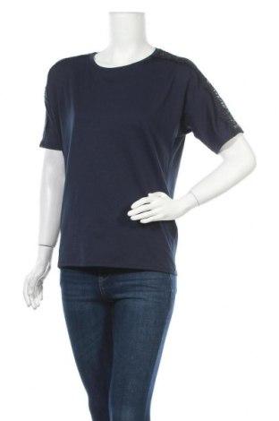 Дамска блуза Esprit, Размер XS, Цвят Син, 95% полиестер, 5% еластан, Цена 3,00лв.