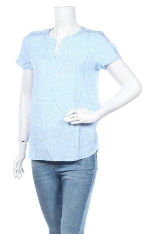 Дамска блуза Esprit, Размер S, Цвят Син, Вискоза, Цена 14,70лв.