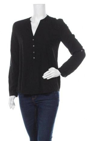 Дамска блуза Esprit, Размер S, Цвят Черен, Вискоза, Цена 17,15лв.