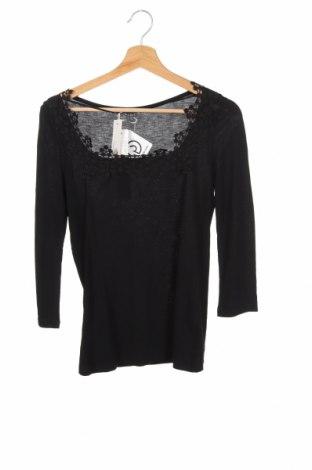 Дамска блуза Esprit, Размер XXS, Цвят Черен, Вискоза, Цена 44,25лв.