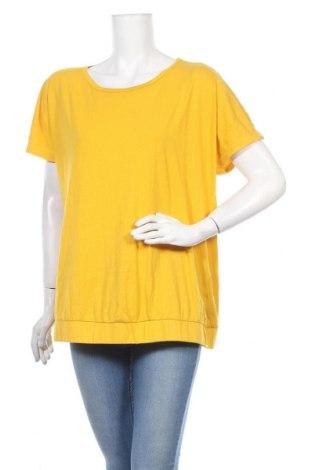Дамска блуза Essentials by Tchibo, Размер XL, Цвят Жълт, 50% памук, 50% вискоза, Цена 17,85лв.