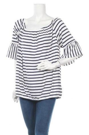 Дамска блуза Essentials by Tchibo, Размер XXL, Цвят Син, 95% вискоза, 5% еластан, Цена 5,36лв.