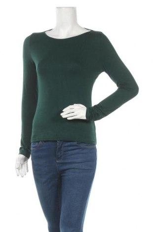 Дамска блуза Even&Odd, Размер M, Цвят Зелен, 95% вискоза, 5% еластан, Цена 27,30лв.
