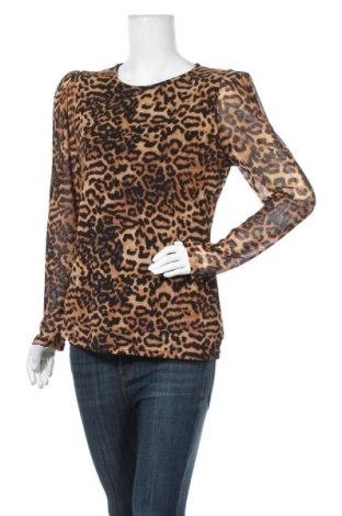 Дамска блуза Free Quent, Размер XL, Цвят Бежов, 95% полиестер, 5% еластан, Цена 4,46лв.