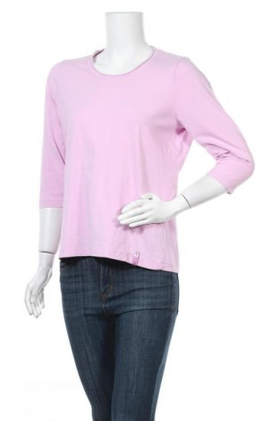 Γυναικεία μπλούζα Gina Laura, Μέγεθος M, Χρώμα Ρόζ , 95% βαμβάκι, 5% ελαστάνη, Τιμή 4,32€