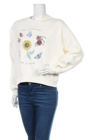 Γυναικεία μπλούζα H&M Divided, Μέγεθος M, Χρώμα Εκρού, 60% βαμβάκι, 40% πολυεστέρας, Τιμή 12,34€