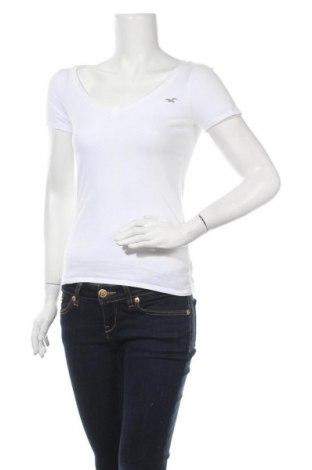Γυναικεία μπλούζα Hollister, Μέγεθος S, Χρώμα Λευκό, Βαμβάκι, Τιμή 12,06€