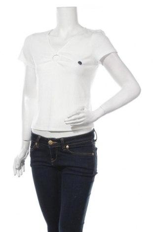 Γυναικεία μπλούζα Hollister, Μέγεθος L, Χρώμα Λευκό, 65% πολυεστέρας, 31% βισκόζη, 4% ελαστάνη, Τιμή 12,66€