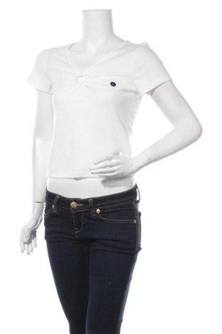 Γυναικεία μπλούζα Hollister, Μέγεθος L, Χρώμα Λευκό, 65% πολυεστέρας, 31% βισκόζη, 4% ελαστάνη, Τιμή 10,72€