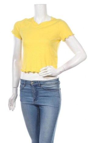 Γυναικεία μπλούζα Hollister, Μέγεθος S, Χρώμα Κίτρινο, 60% βαμβάκι, 40% πολυεστέρας, Τιμή 7,01€