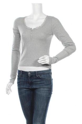 Γυναικεία μπλούζα Hollister, Μέγεθος M, Χρώμα Γκρί, 56% βαμβάκι, 38% πολυεστέρας, 6% ελαστάνη, Τιμή 11,91€