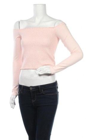 Γυναικεία μπλούζα Hollister, Μέγεθος M, Χρώμα Ρόζ , 96% βαμβάκι, 4% ελαστάνη, Τιμή 10,21€