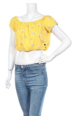 Γυναικεία μπλούζα Hollister, Μέγεθος L, Χρώμα Κίτρινο, Βαμβάκι, Τιμή 13,92€