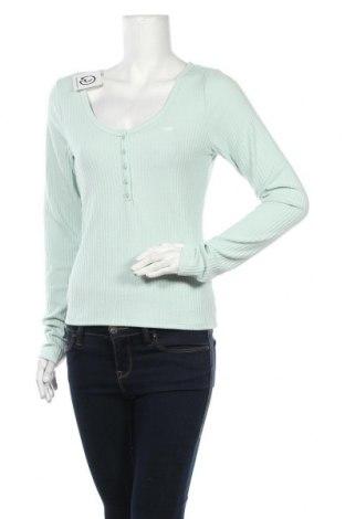 Γυναικεία μπλούζα Hollister, Μέγεθος L, Χρώμα Πράσινο, 95% πολυεστέρας, 5% ελαστάνη, Τιμή 15,16€