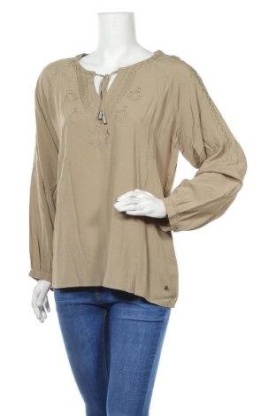Дамска блуза Jette, Размер XL, Цвят Бежов, Вискоза, Цена 12,32лв.