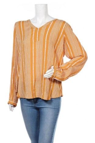 Γυναικεία μπλούζα Kaffe, Μέγεθος XL, Χρώμα Κίτρινο, Βισκόζη, Τιμή 20,93€