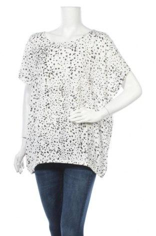 Γυναικεία μπλούζα Kaffe, Μέγεθος XL, Χρώμα Λευκό, Βισκόζη, Τιμή 22,81€