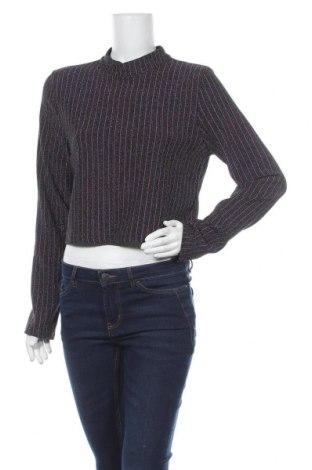 Дамска блуза Kiomi, Размер XL, Цвят Многоцветен, 80% полиестер, 15% метални нишки, 5% еластан, Цена 13,65лв.