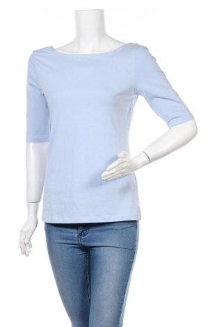 Дамска блуза Kiomi, Размер L, Цвят Син, 95% памук, 5% еластан, Цена 27,00лв.