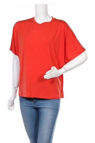 Дамска блуза Kiomi, Размер S, Цвят Червен, 95% вискоза, 5% еластан, Цена 11,52лв.