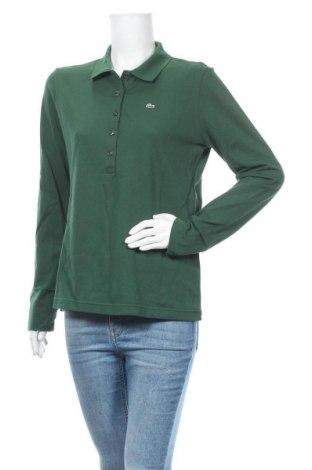 Γυναικεία μπλούζα Lacoste, Μέγεθος XXL, Χρώμα Πράσινο, 94% βαμβάκι, 6% ελαστάνη, Τιμή 72,74€