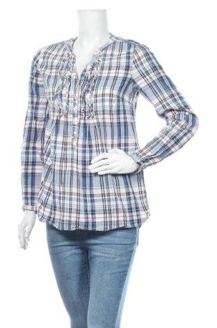 Дамска блуза Lindex, Размер M, Цвят Многоцветен, Памук, Цена 19,95лв.
