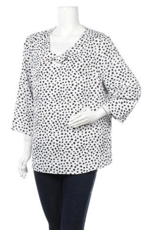 Дамска блуза Liz Jordan, Размер XXL, Цвят Бял, 97% полиестер, 3% еластан, Цена 29,40лв.