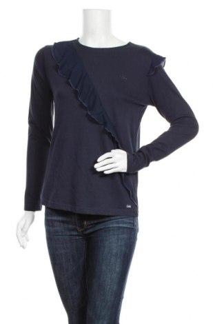 Дамска блуза Lois, Размер S, Цвят Син, Памук, Цена 19,60лв.