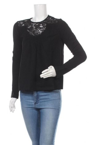 Дамска блуза Lost Ink, Размер M, Цвят Черен, 95% памук, 5% еластан, Цена 9,69лв.